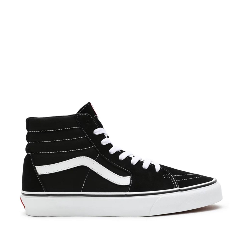 UA Sk8-Hi Black/Black/White Unisex Spor Ayakkabısı