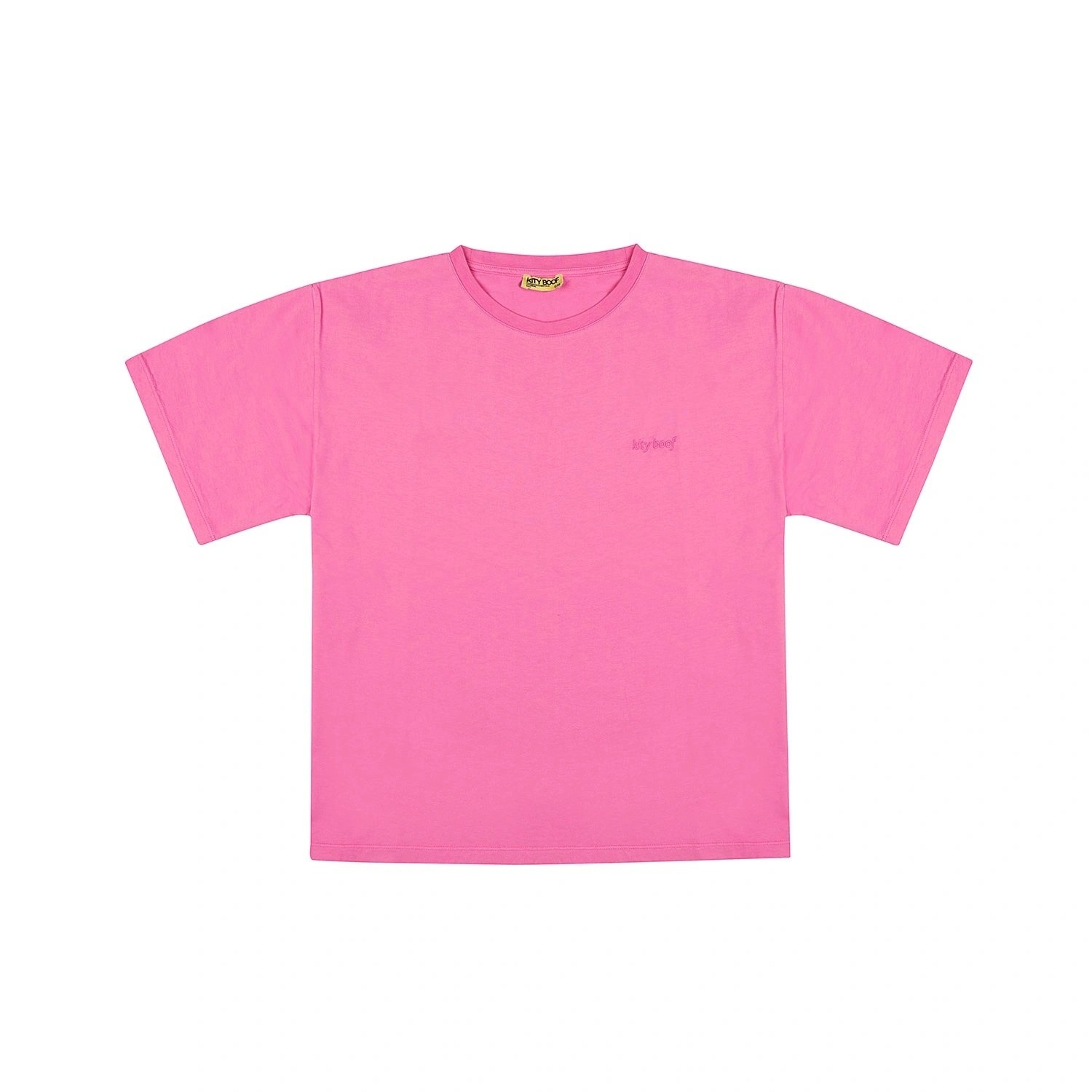 Kity Boof T-shirt Washed Candy Pink