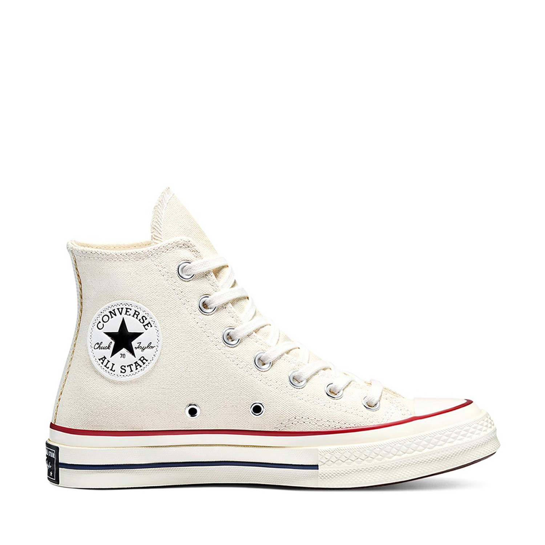 Chuck 70 Hi Parchment/Garnet/Egret Unisex Spor Ayakkabısı