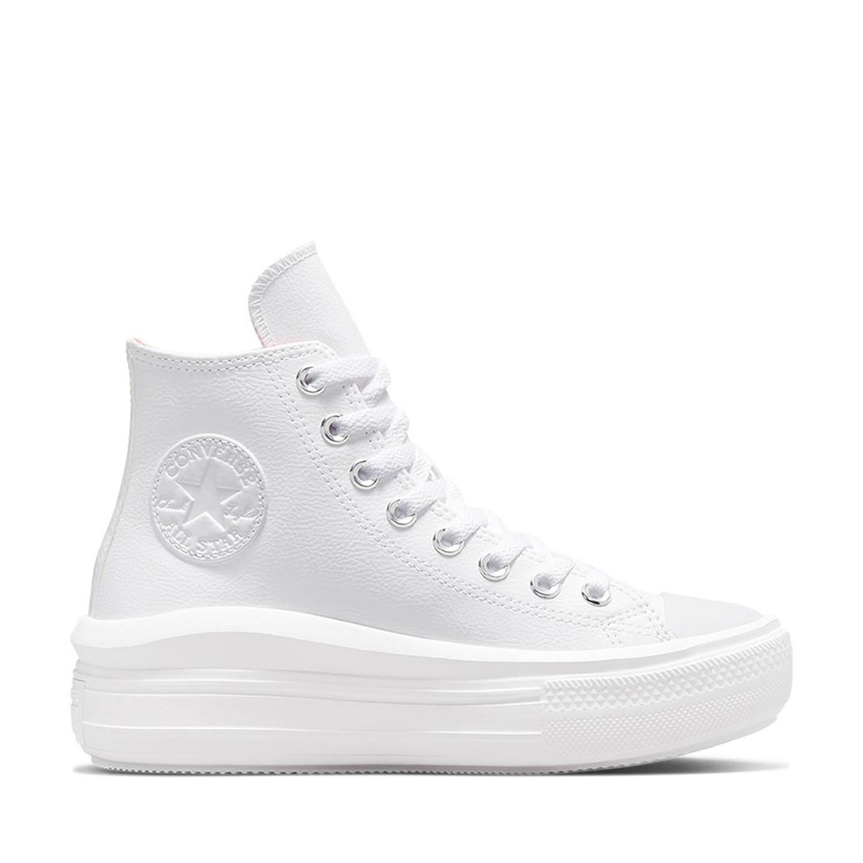 Chuck Taylor All Star Move Hi Platform White/White/White Unisex Spor Ayakkabısı