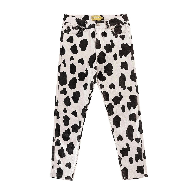 Kity Boof Cozy Pantolon Cow Print