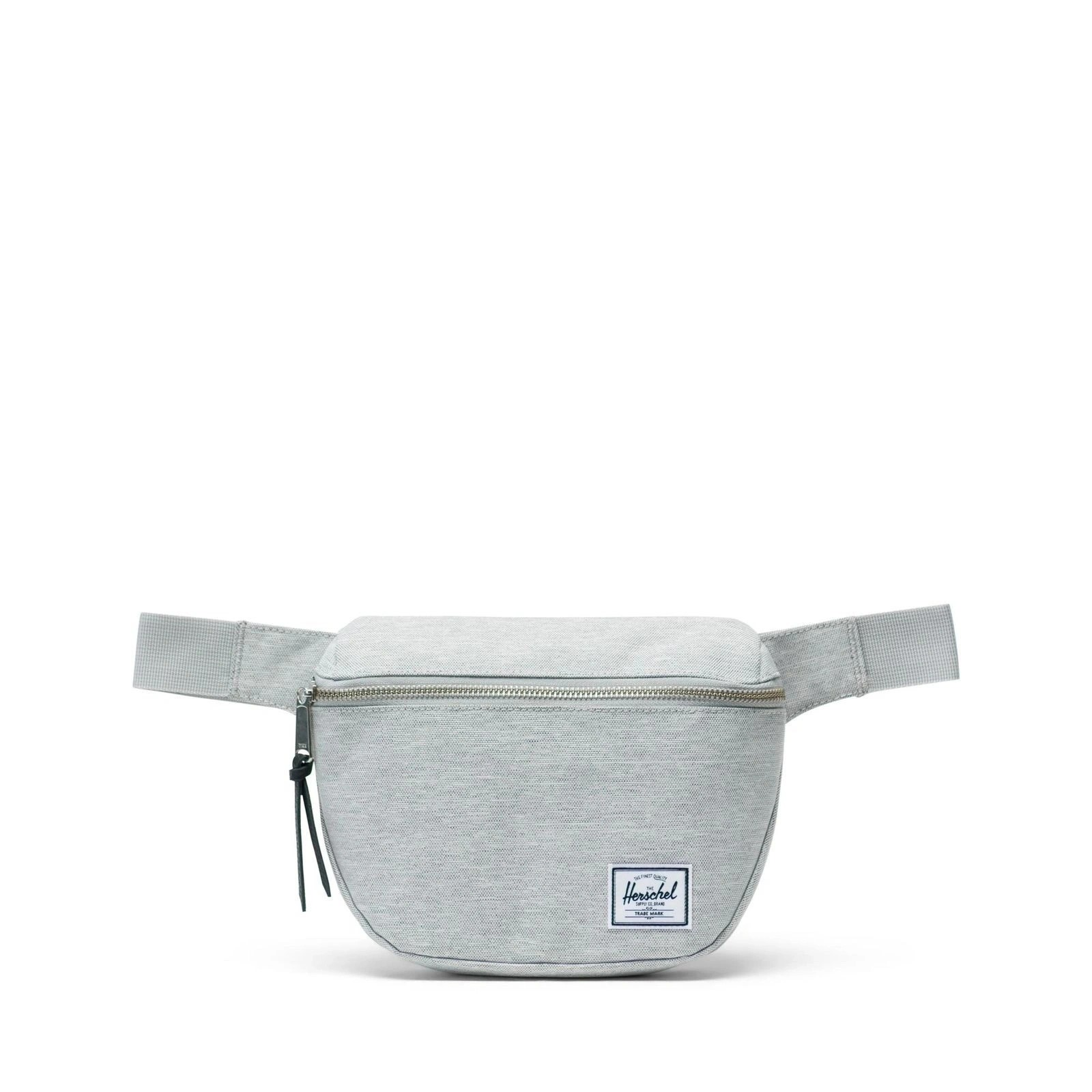 Herschel Bel Çantası Fifteen Light Grey Crosshatch