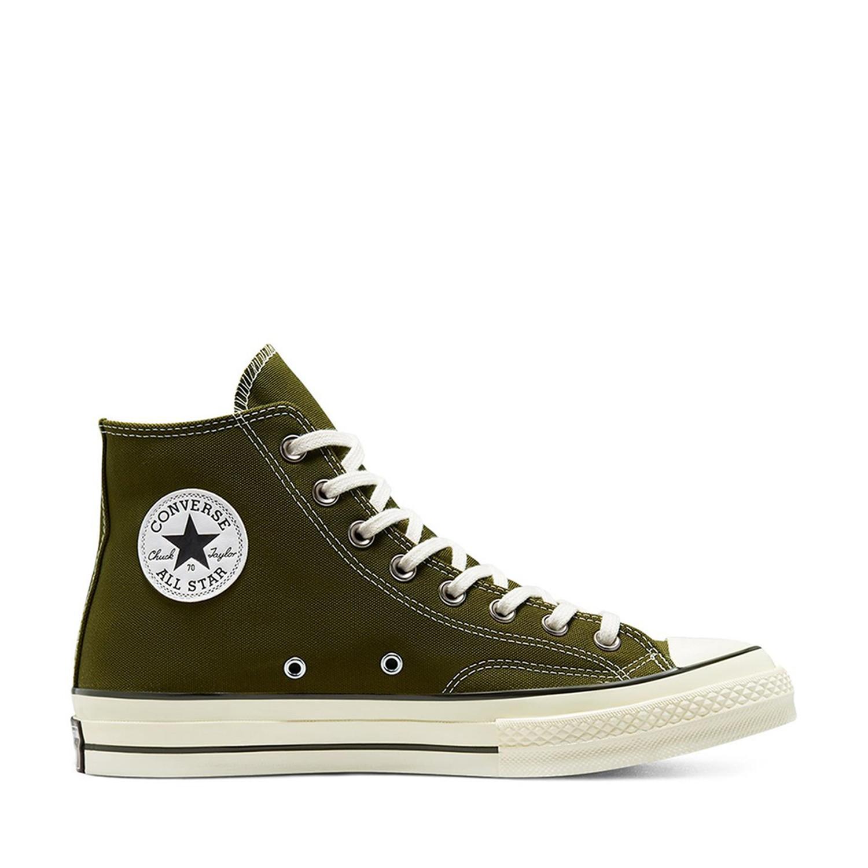 Chuck 70 Hi Dark Moss/Egret/Black Unisex Spor Ayakkabısı