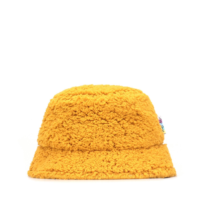 Kity Boof Sherpa Bucket Hat Mustard