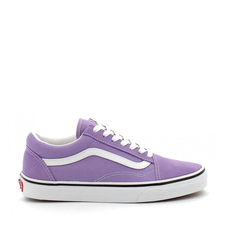 UA Old Skool Chalk Violet/True White Unisex Spor Ayakkabısı