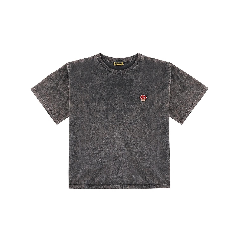Kity Boof T-shirt Mushroom Washed Grey