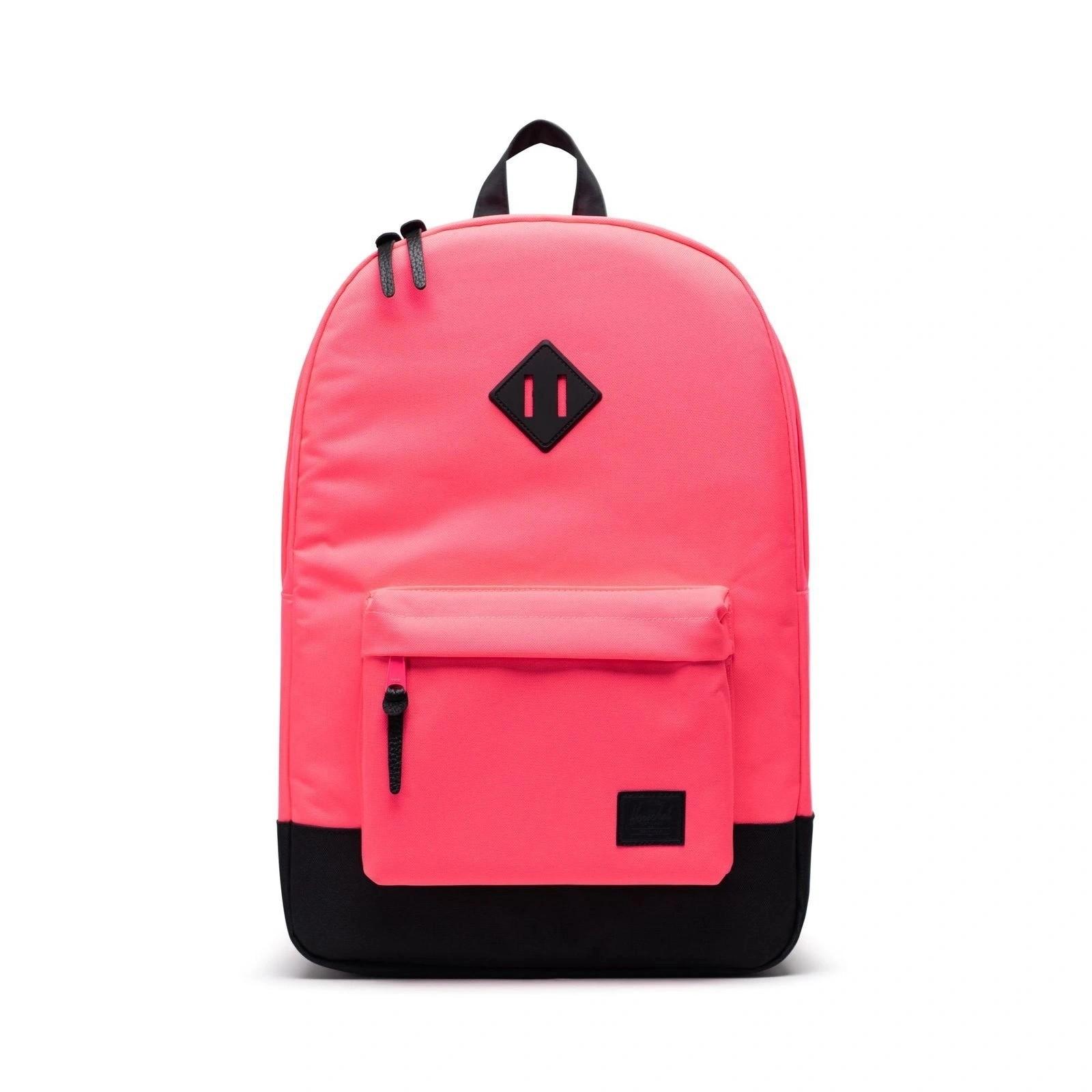 Herschel Sırt Çantası Heritage Neon Pink Black