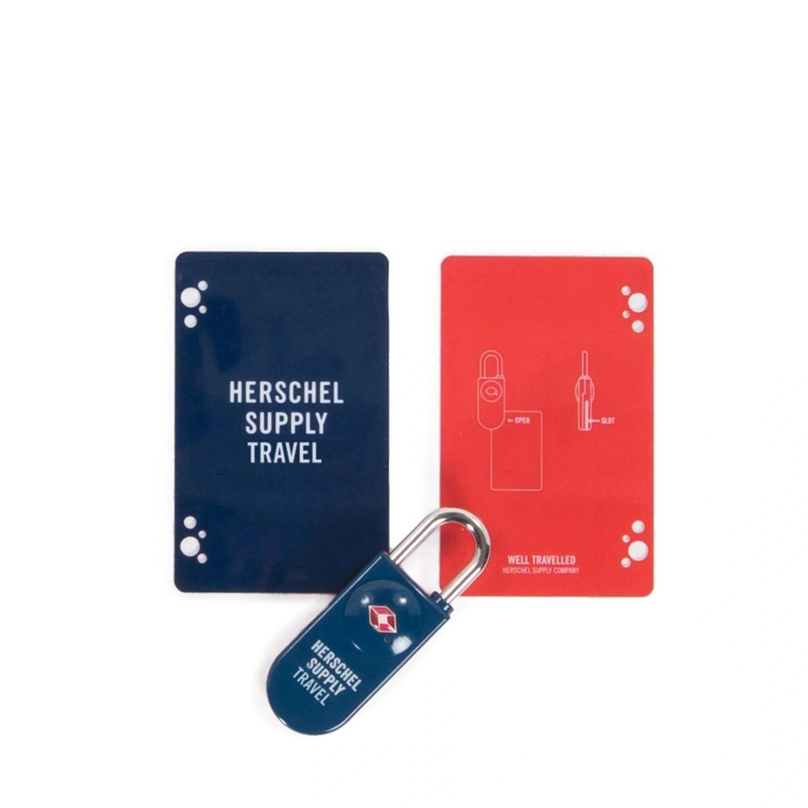 Herschel TSA CARD LOCK Navy/Red