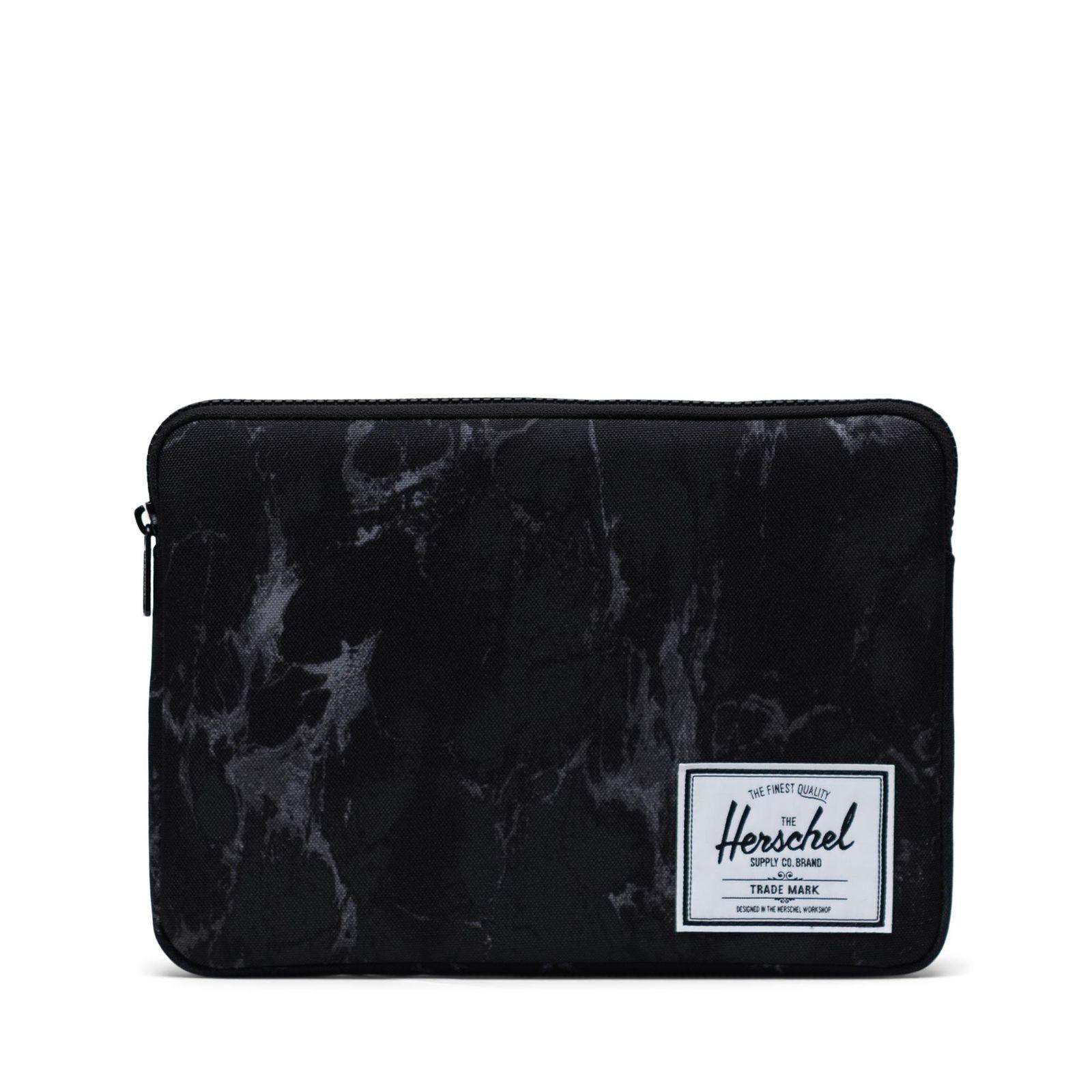 Herschel Laptop Kılıfı Anchor Sleeve for 12 inch MacBook Black Marble