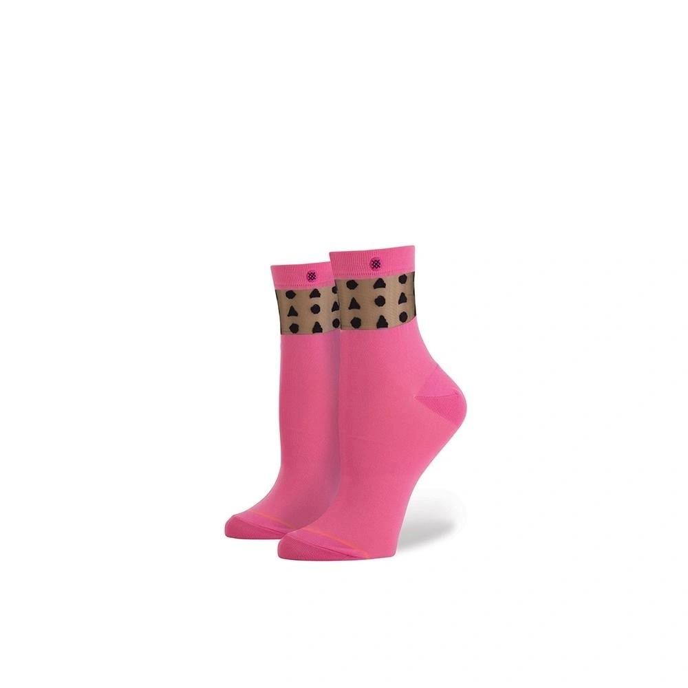 Sucha Square Pink Kadın Çorap