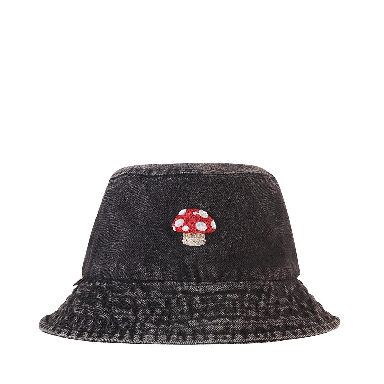 Kity Boof Jean Bucket Hat Washed Grey