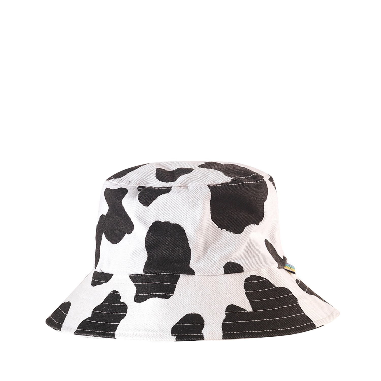Kity Boof Bucket Hat Cow Print