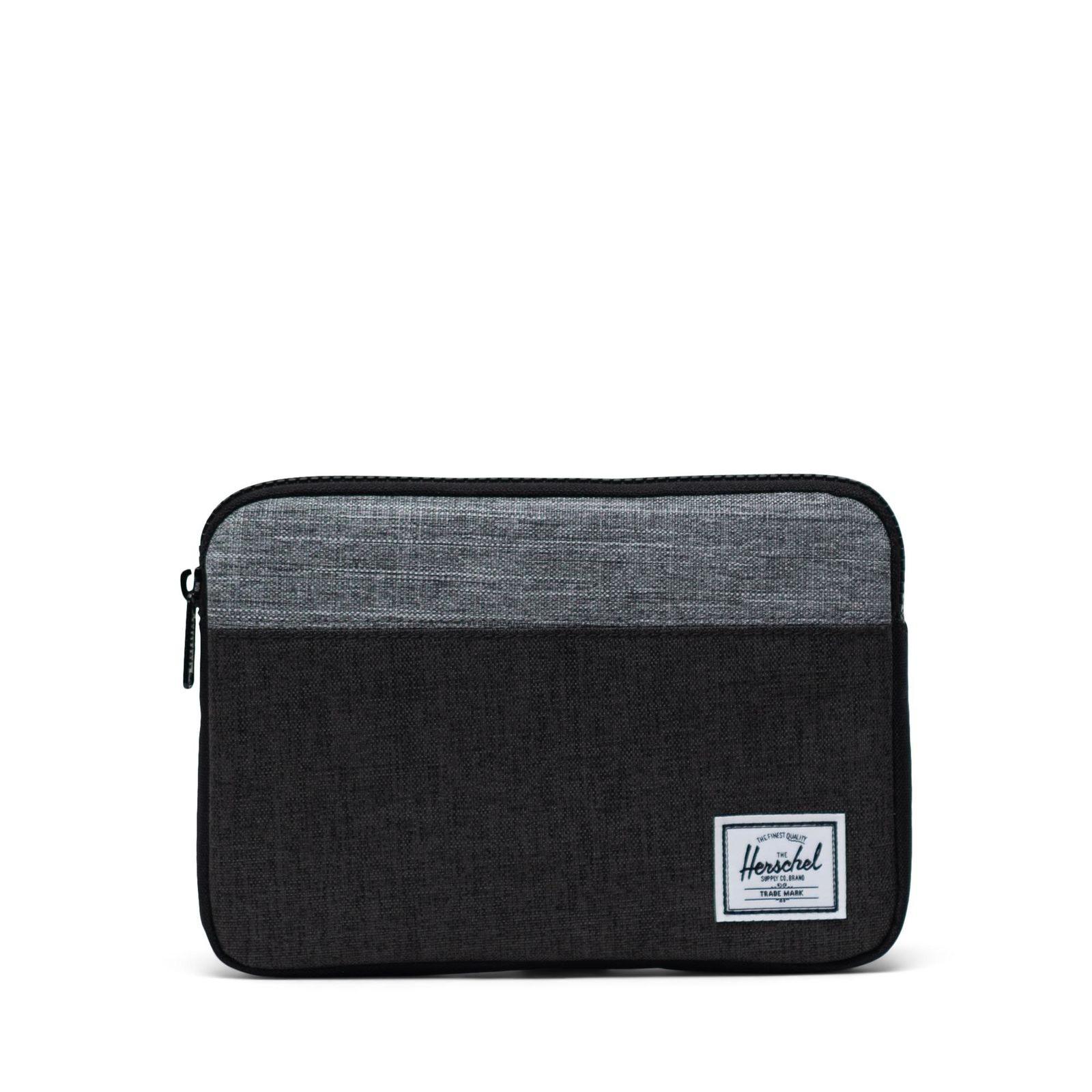Herschel iPad Kılıfı Anchor Sleeve for iPad MiniBlack Crosshatch/Black/Raven Crosshatch