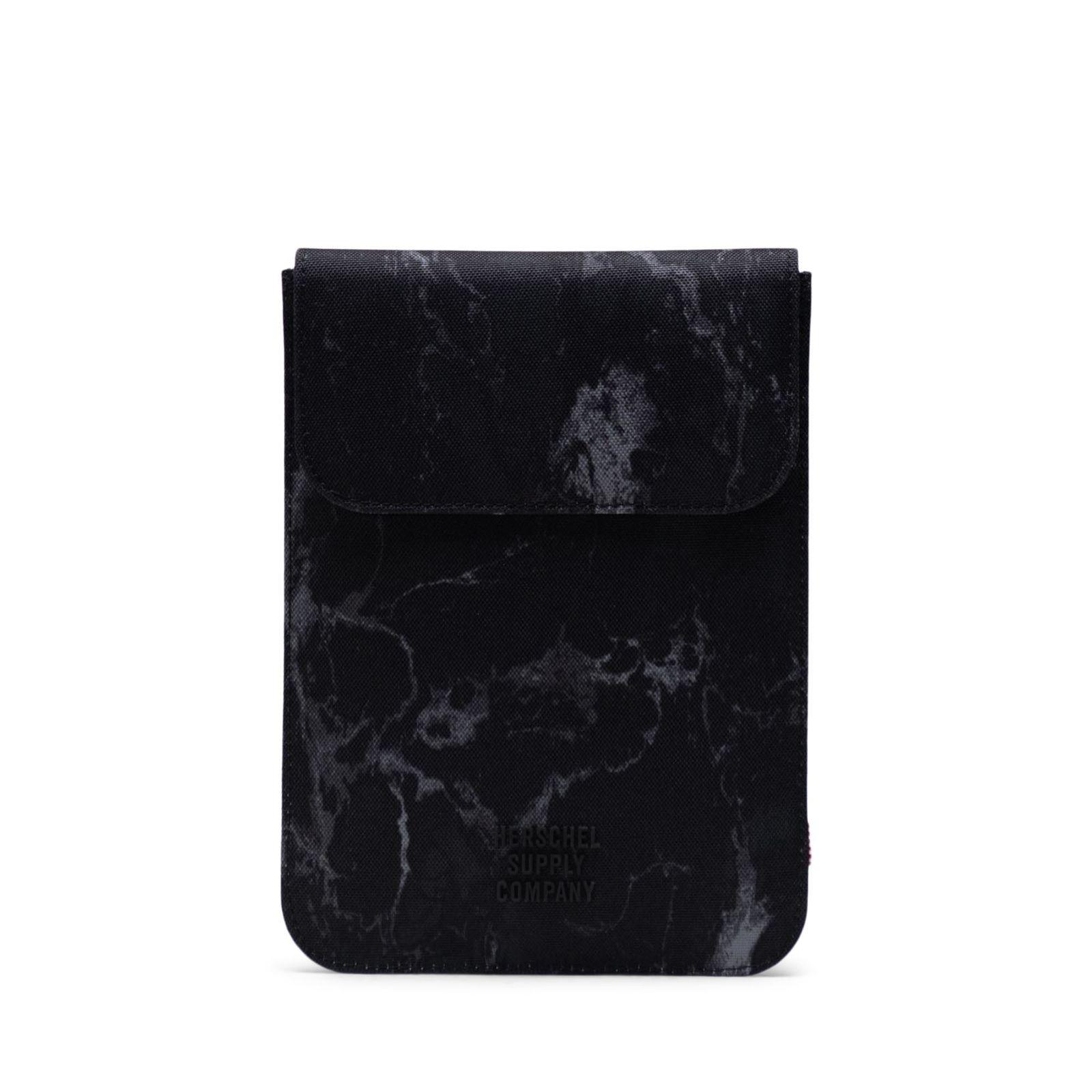 Herschel iPad Kılıfı Spokane Sleeve for iPad Mini Black Marble