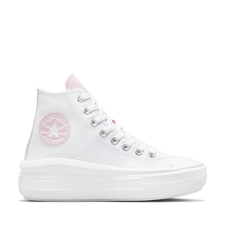 Chuck Taylor All Star Move Hi Platform White/Pink Foam/White Unisex Spor Ayakkabısı