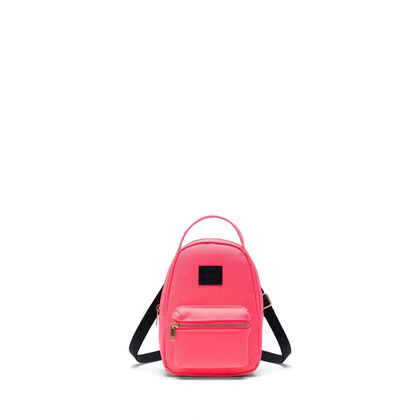Herschel Omuz Çantası Nova Crossbody Neon Pink Black