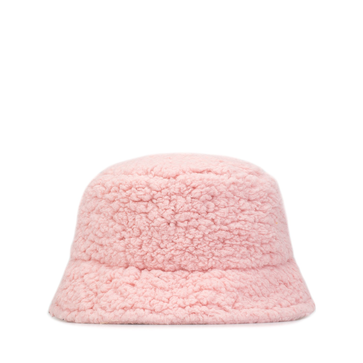 Kity Boof Sherpa Bucket Hat Candy Pink