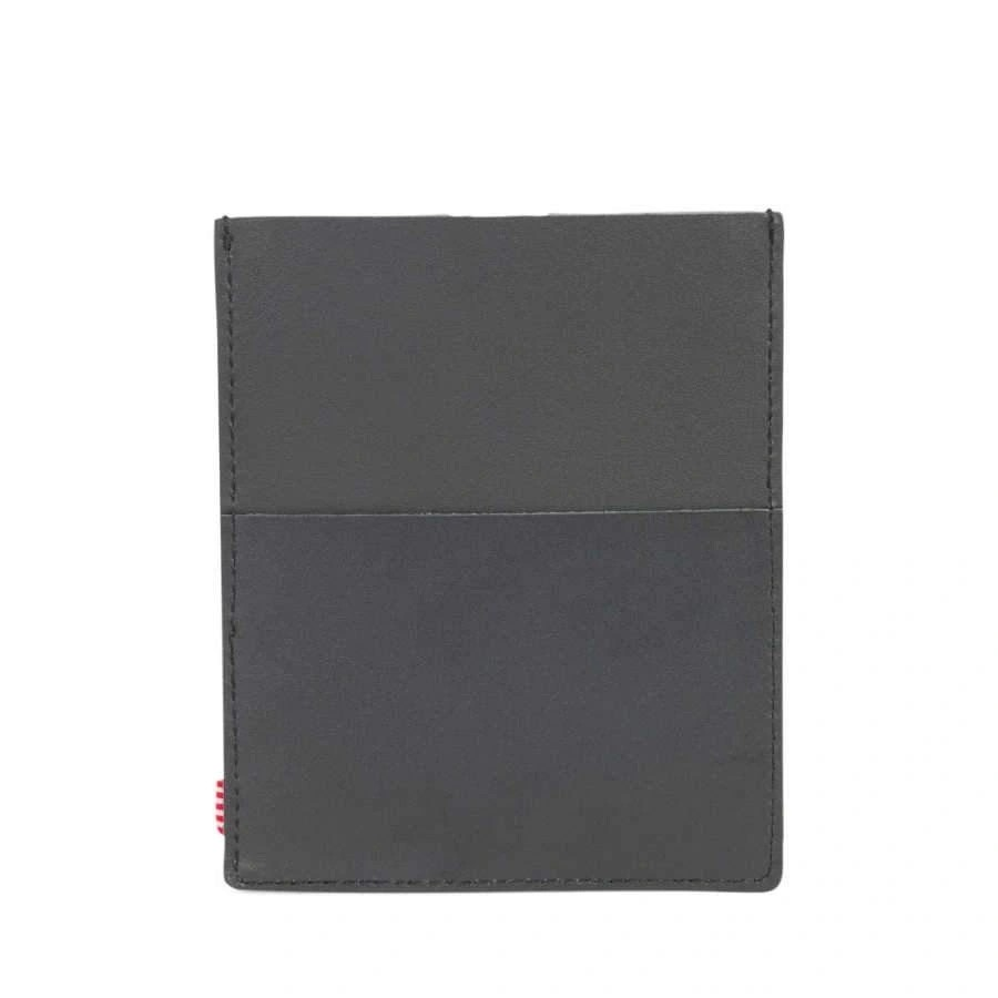 Herschel Pasaport Kılıfı/Kartlık Eugene Leather Black/Black Leather