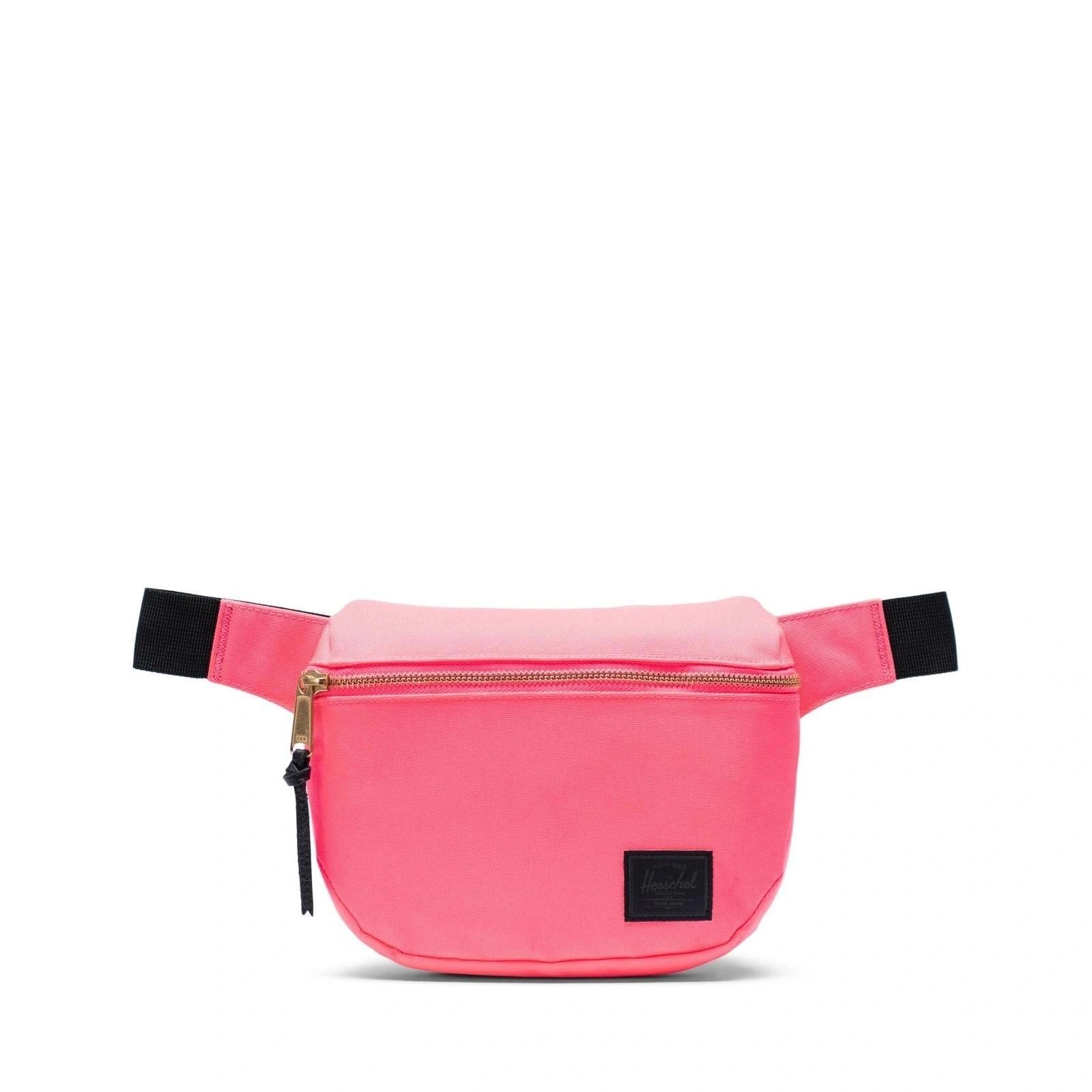 Herschel Bel Çantası Fifteen Neon Pink/Black